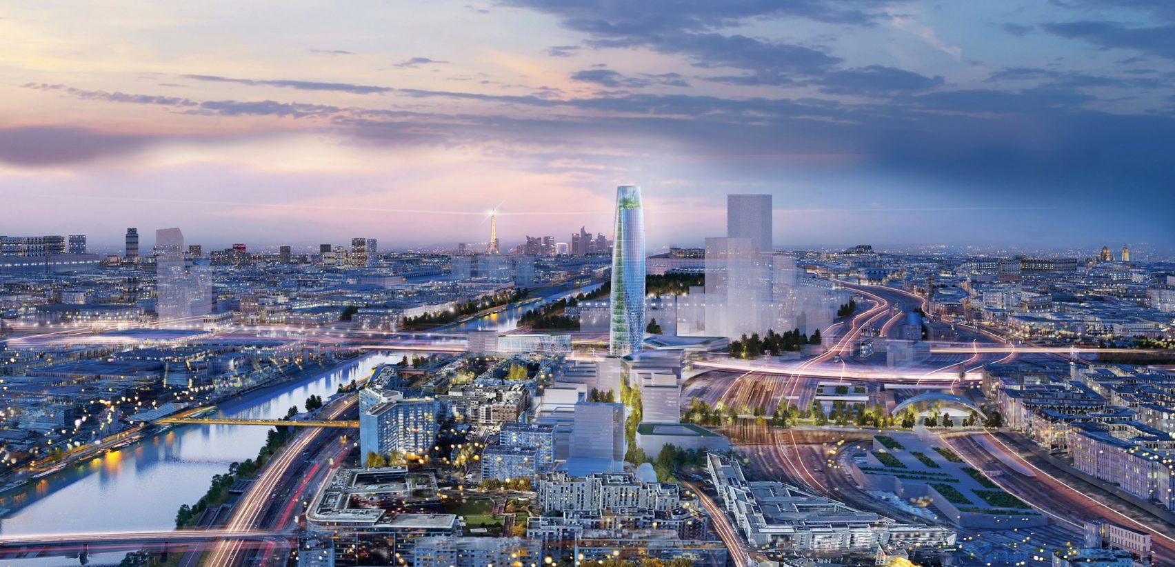 Париж - новый район | Зеленые крыши
