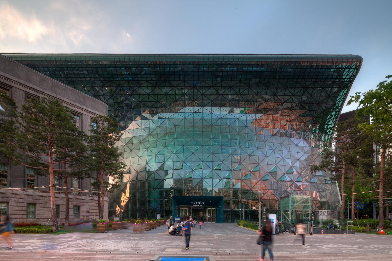 Здание мерии в Сеуле | Зеленые крыши
