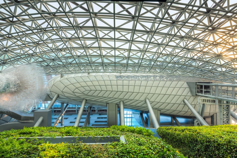 Мерия в Сеуле - вид внутри | Зеленые крыши