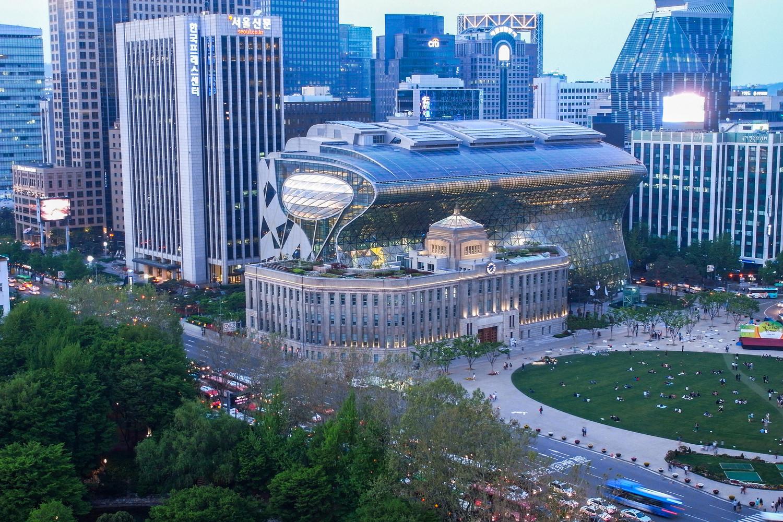 Мерия в Сеуле | Зеленые крыши