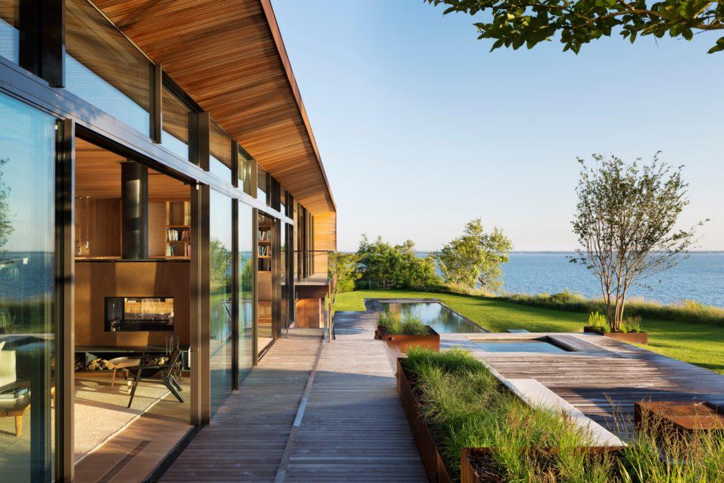 Пентхаус возле моря - вид   Зеленые крыши