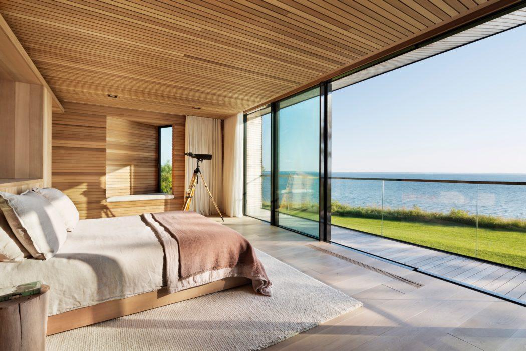 Спальная комната   Зеленые крыши