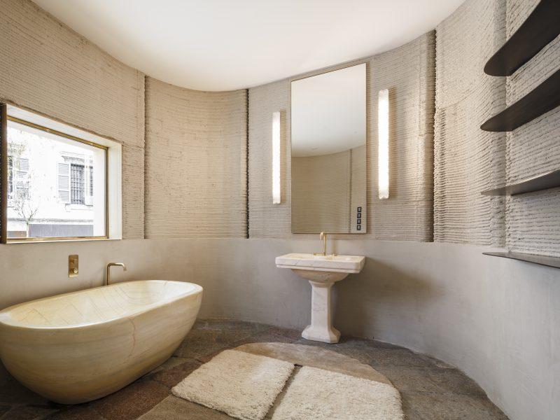 Ванная комната   Зеленые крыши