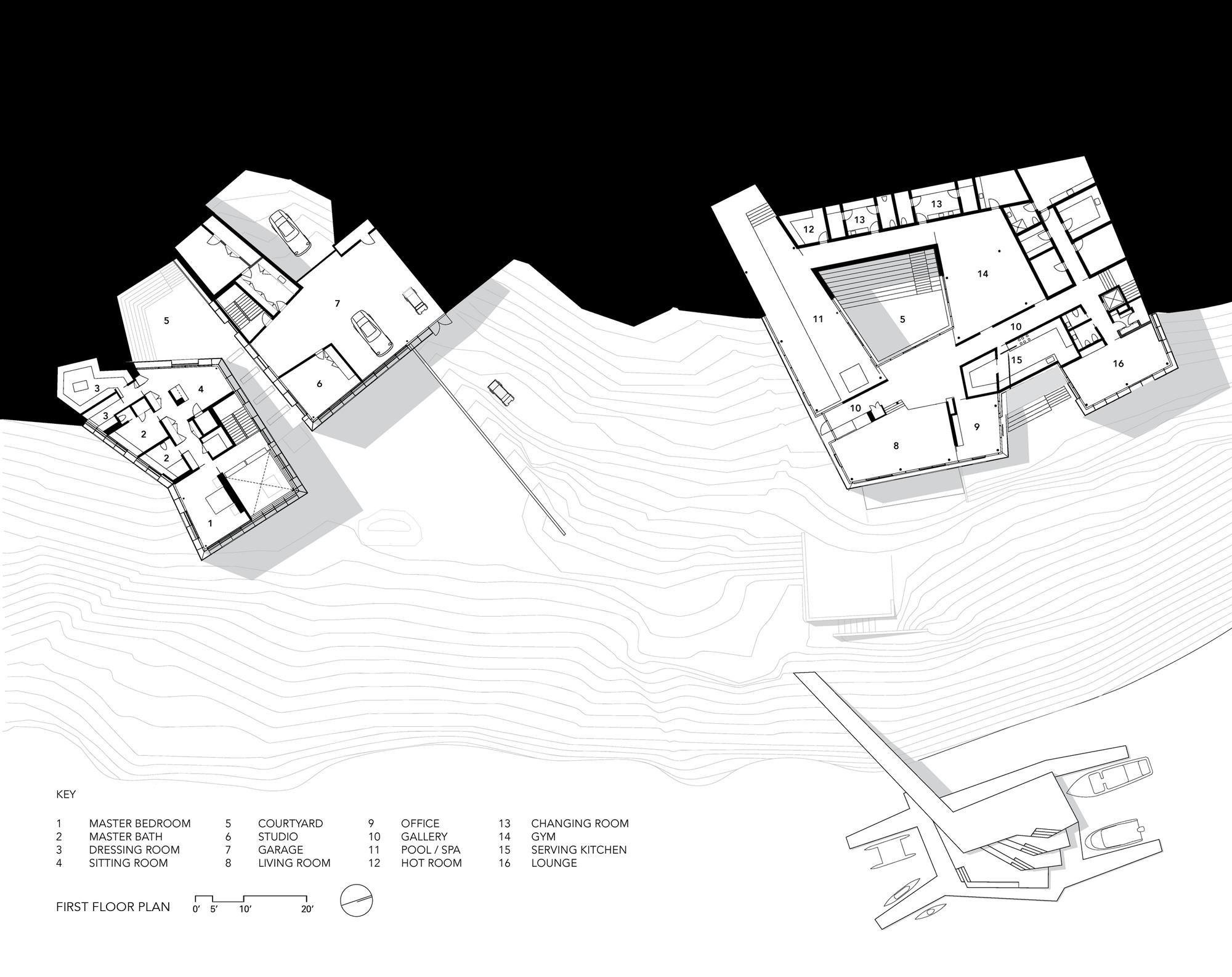 Подземный дом у озера - проект   Зеленые крыши