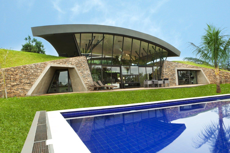 озеленение пространства возле дома | Зеленые крыши